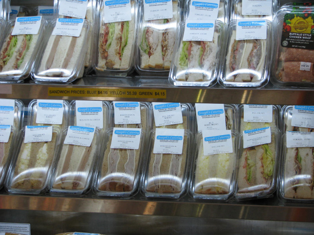 Fresh Sandwiches from